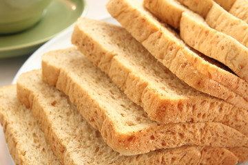 sliced of whole wheat bread
