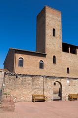Toscana: Certaldo alto, casa del Boccaccio