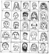 Hand-drawn people