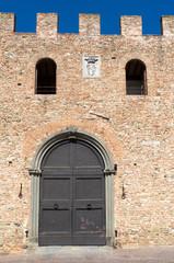 Toscana: Certaldo alto, casa medioevale
