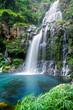 Leinwandbild Motiv Cascade du bassin des Aigrettes - Ile de La Réunion