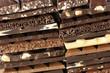Assorted chocolate close-up