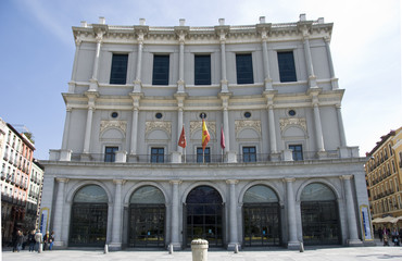 Royal theatre, madrid