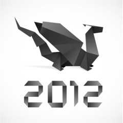 Origami dragon 2012