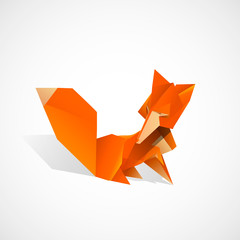 Origami Fox