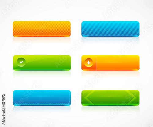 Web color buttons