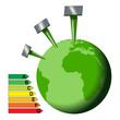 énergie solaire pour la terre