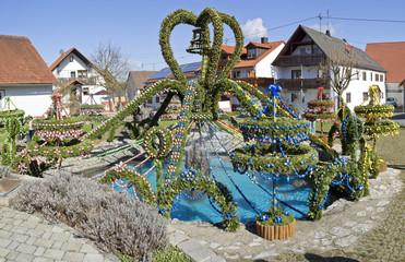 osterbrunnen in franken