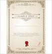 Certificate template - 40372799