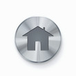 Home button, icon isolated on white background