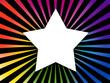 fond coloré étoile