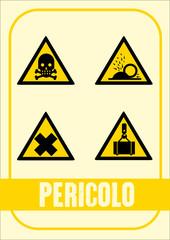 Segnale Pericolo Kit 04