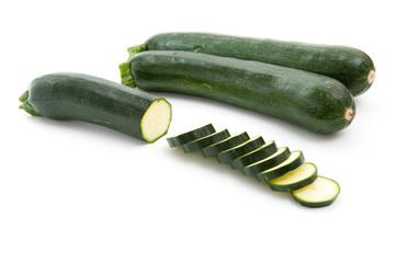Zucchini in Scheiben geschnitten