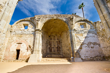Great Stone Church at Mission San Juan Capistrano