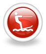 "Light Red Icon ""Water Skiing"""