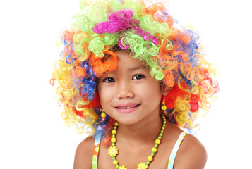 Colorful hairpiece
