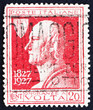 Postage stamp Italy 1927 Count Alessandro Volta, Physicist