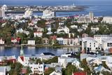Fototapety View of Reykjavik, Iceland