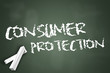 "Chalkboard ""Consumer Protection"""