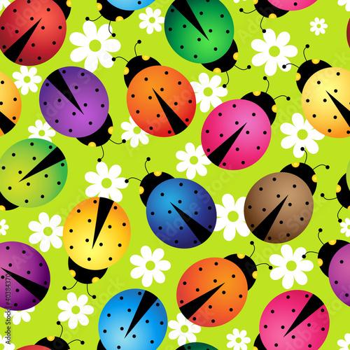 abstract beetles