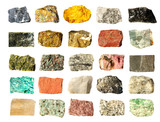 Mineral collection isolated