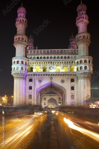 Charminar, Famous monument in Hyderabad Poster
