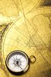Detail closeup compass
