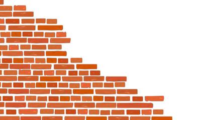Mauer Wand Stein - teilweise aufgebaut