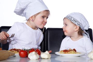 Schnapp sie doch die Spaghetti