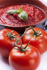 tegame con salsa di pomodoro 2