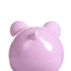 Piggy bank rear end