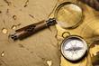 Vintage Navigation Equipment, compass