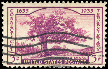 USA - CIRCA 1935 Charter Oak