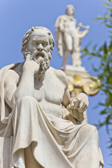 The ancient Greek philosopher Socrates