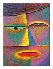 Face 4_2004_Acrylic on canvas