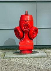 borne d'incendie pour les pompiers