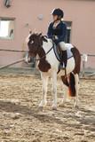 bambina equitazione