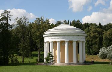 Pavilion in Pavlovsk Saint Petersburg Russia