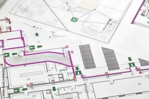 Piano di evacuazione - 40404165