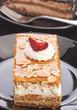 yolk and cream cake