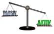 3D Waage3 - PASSIV - AKTIV