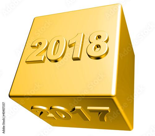 3D Goldwürfel - 2017 - 2018