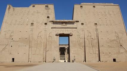 Eingang zum Edfu Tempel