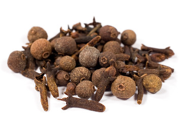 allspice and cloves