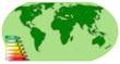 mappe monde écologique