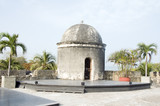 sentry box  lookout Cartagena de Indias Colombia South America poster