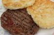 Steak haché - Galette de pomme de terre