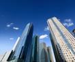 modern building against a blue sky