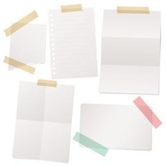 紙とテープ