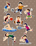 Fototapety sport stickers